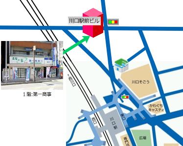 ウェアポータル株式会社地図